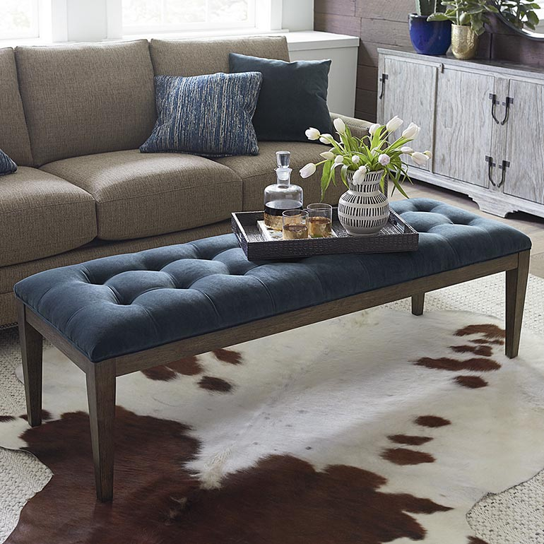 Tapered Ottoman
