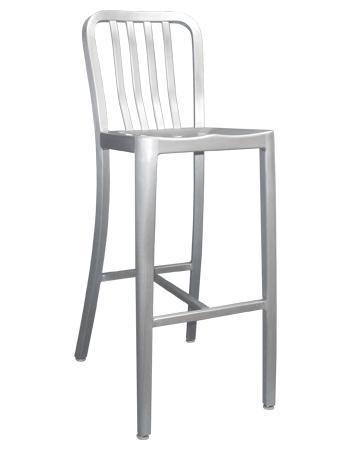 Rosa Aluminum Bar Stool