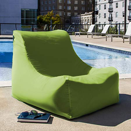 Traveller Location: Jaxx Ponce Outdoor Bean Bag Lounge Chair, Lagoon: Home & Kitchen