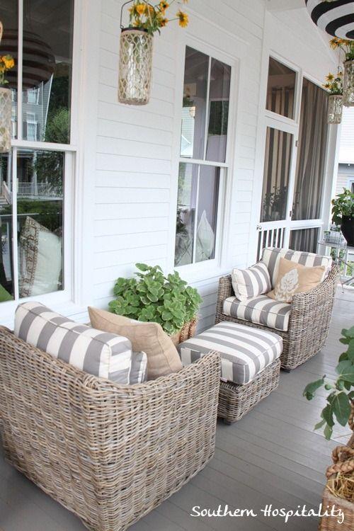 Feature Friday: Ballard Designs Bosch House at Serenbe   outdoors