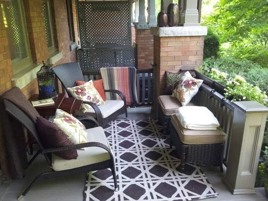 Patio: Outstanding Outdoor Front Porch Furniture Front Porch Patio