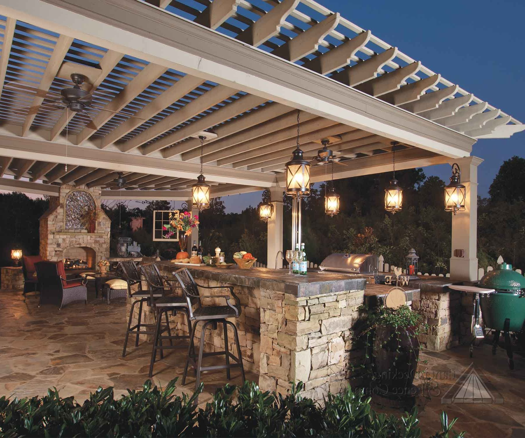 Decorate Your Outdoor Space With Beautiful Outdoor Hanging Light Fixtures  Read More: http:/