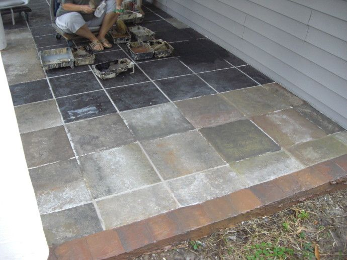 Outdoor Patio Tile Over Concrete