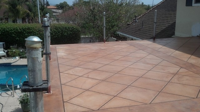 Patio Tiles Over Concrete