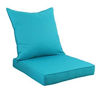 Amazon.com : Rattaner Deep Seat Chair Cushion Set - Indoor/Outdoor
