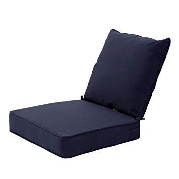 Amazon.com : MAXDIVANI Indoor/Outdoor Deep Seat Chair Cushion Set