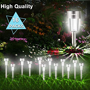 Amazon.com : Solar Lights Outdoor Landscape Lights Yard Lights Solar