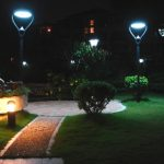Brightening outdoor solar garden lights   that will sparkle your garden