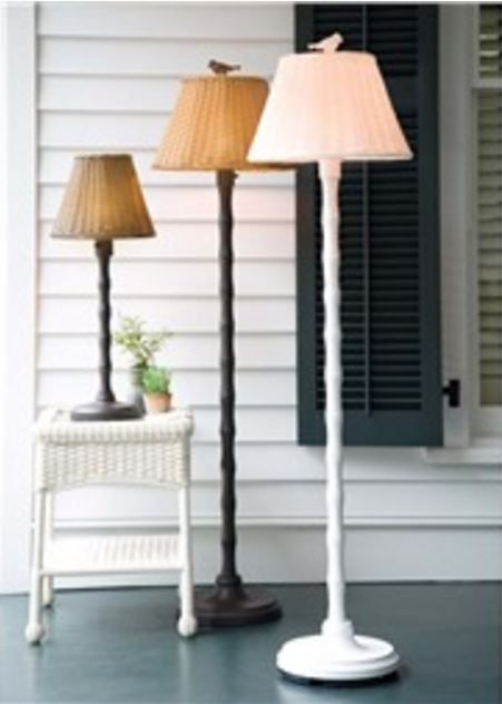 Lighting a Dark Corner of the Porch | Recipes to make | Pinterest