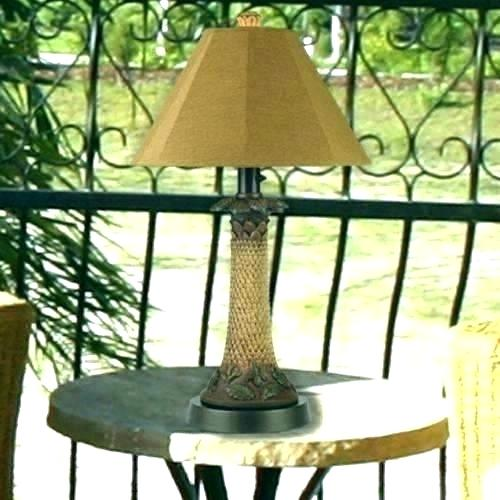 Patio Table Lamps Outdoor Patio Table Lights Lamp Porch Lamps