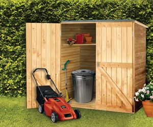 Outdoor Wood Storage Shed - Diamond Resource in Goffstown NH