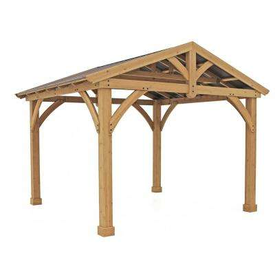 Wood - Gazebos - Sheds, Garages & Outdoor Storage - The Home Depot