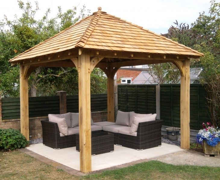wooden gazebo www.glenfort.com | outdoor spaces | Gazebo, Wooden