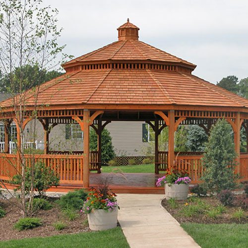 Large Wood Gazebos | Country Lane Gazebos
