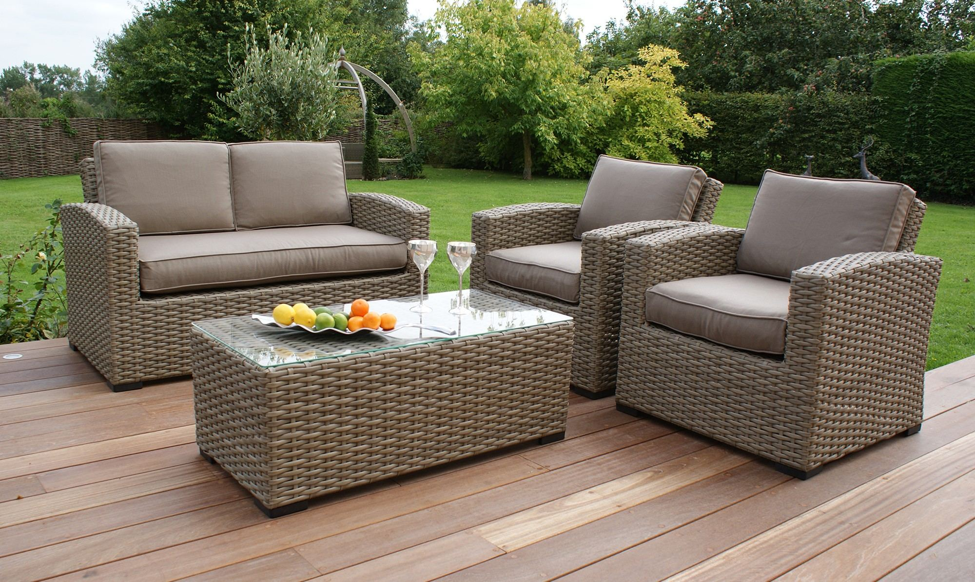 Rattan Garden Sofa Set Uk