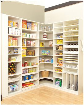 kitchen pantry | Kitchen Pantry Storage Systems Pantry Organization.