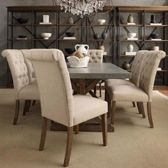 18 parson dining room chairs tribecca home benchwright button tufts  upholstered rolled back parsons chairs set