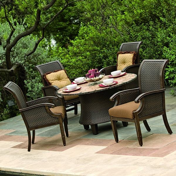 Patio, Wonderful Round Outside Table And Chairs Dining Room Patio Deck  Tables: Stunning Deck
