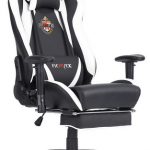pc gaming chair with footrest types