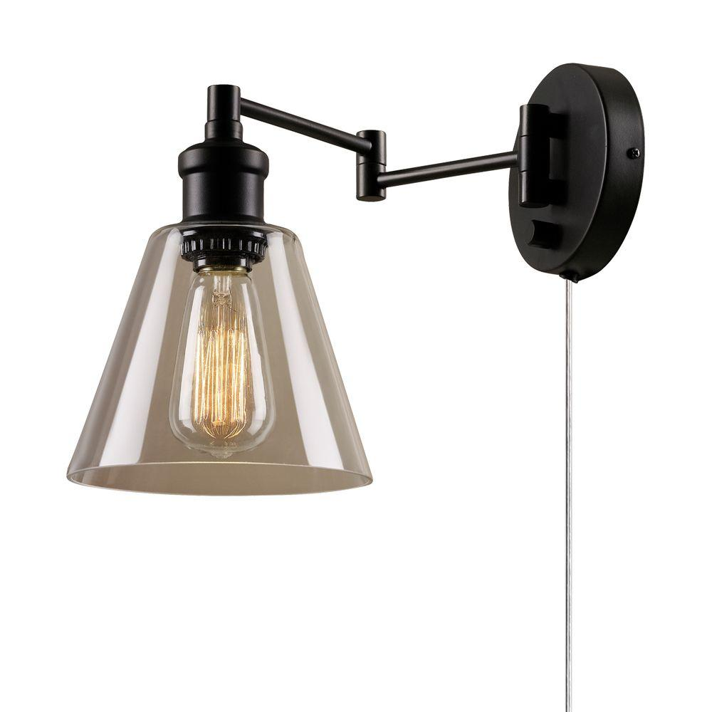 Swing Arm Sconce Pixball Target Lamp Wall Plug With Cord Cover Light And  Red Decor Vintage Style Sconces Flush Kitchen Ceiling Lights Battery  Powered Desk