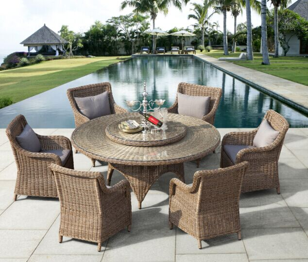 Garden Dining Furniture Outdoor Patio With Regard To Wicker Chairs  Decorations 19