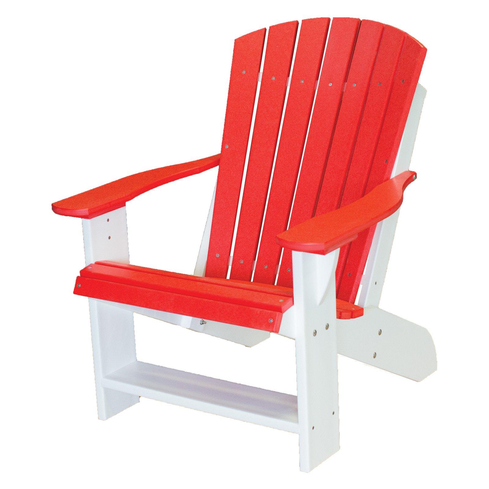 WILDRIDGE Wildridge Two-Tone Recycled Plastic Adirondack Chair