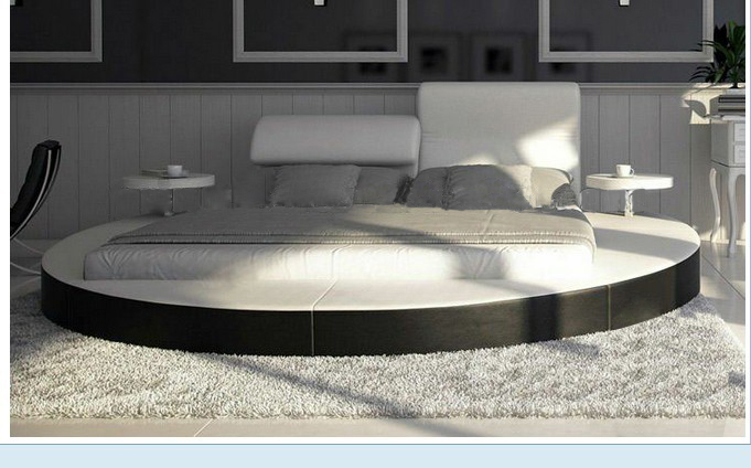 The Villa King Size Round Bed