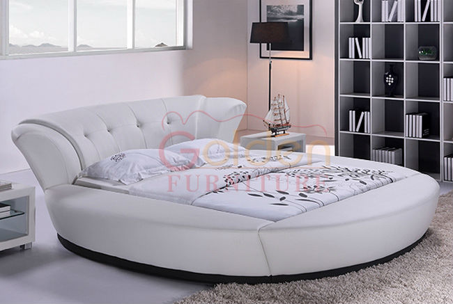 Attractive Round Queen Size Bed White King Modern And Elegant 6820 Buy  Mattress Anne Dining Table Frame Coffee Sheet Crown End Newsround