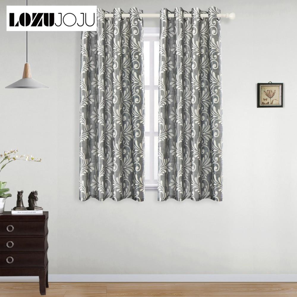Short blackout curtains ideas for bedroom