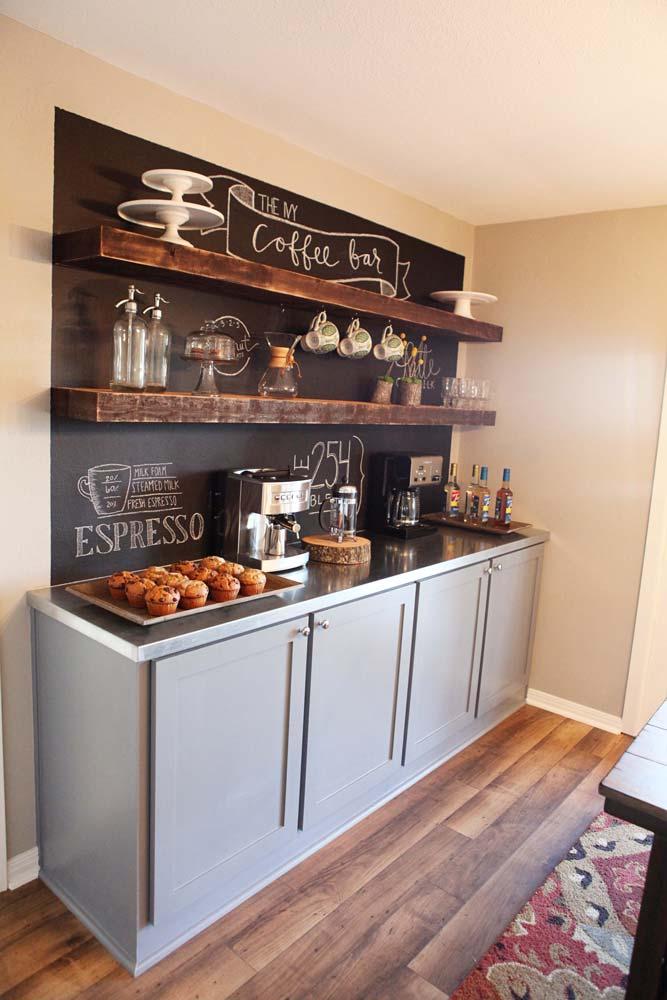 Kitchen-esque Basement Bar.