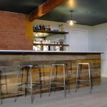 Creative simple basement bar ideas