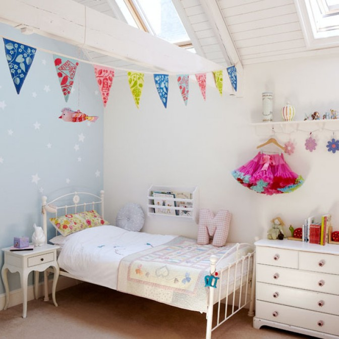Kids Rooms, Fun Coastal Childrens Room Ikea Decorating Kids Rooms Ideas:  Cool Kids Room