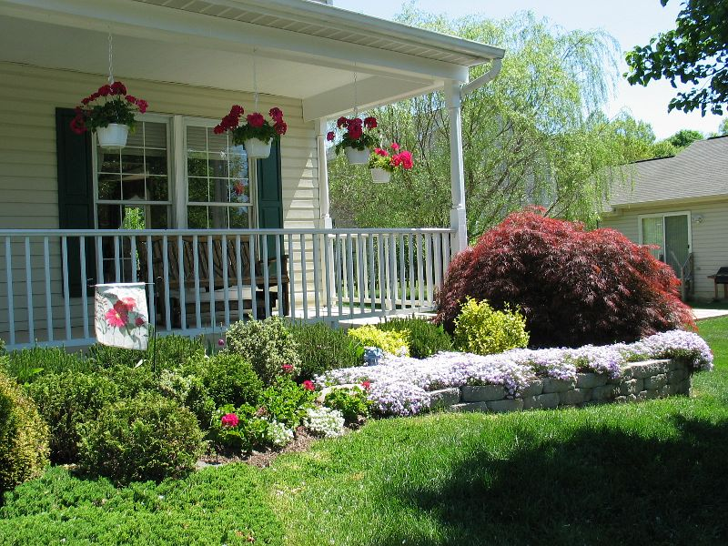 Simple Landscaping Ideas Front Of House