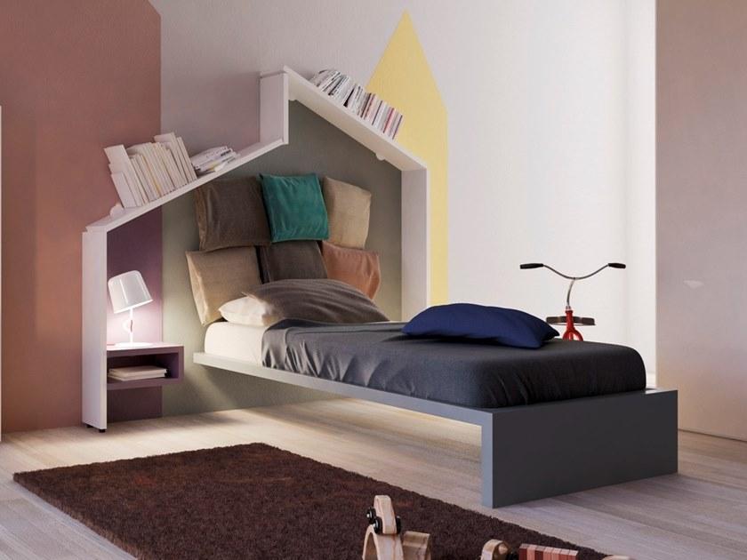 Kids single bed LAGOLINEA | Kids single bed by Lago