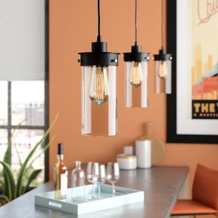 Millet 3-Light Kitchen Island Pendant