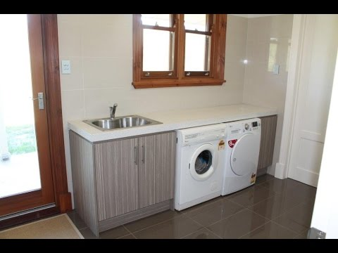 Laundry Cabinets -Laundry Room Ideas