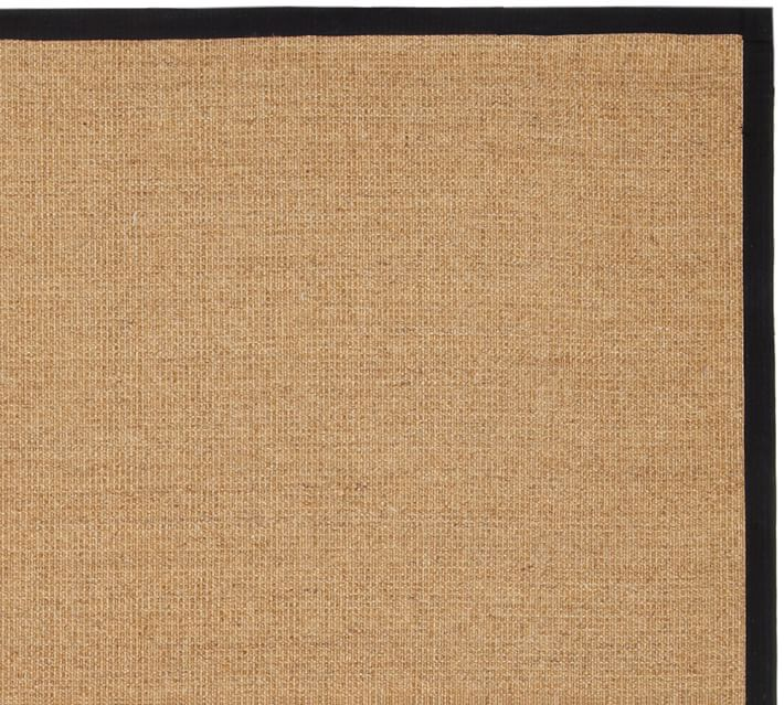 Color-Bound Natural Sisal Rug - Chino