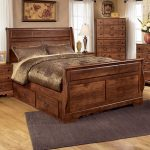 sleigh bed with storage drawers – a cosy   space to sleep in