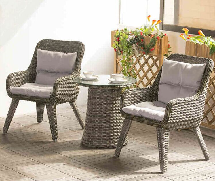 Patio, Small Patio Furniture Sets Patio Table And Chairs Chair Round  Table Webbing Wooden Partition