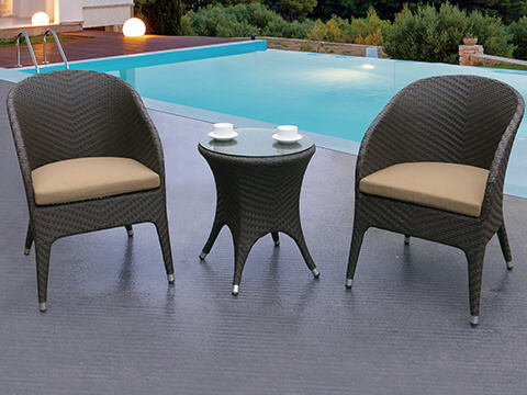 Small Outdoor Balcony Furniture Set