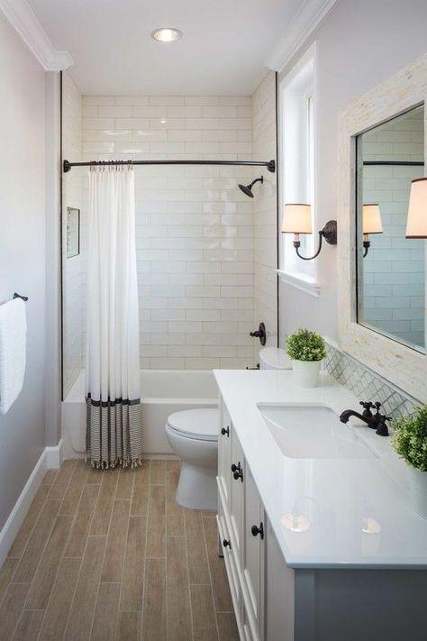 Small Bathroom Makeovers Ideas on a Budget | Bathrooms | Bathroom