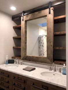Awesome 125 Rustic Farmhouse Bathroom Remodel Ideas https://Traveller Location/884
