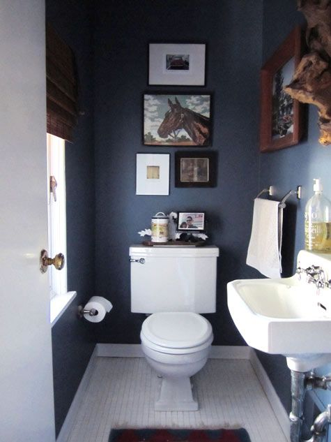 Eye Candy: 10 Bathrooms That Have Gone To The Dark Side | Bathroom