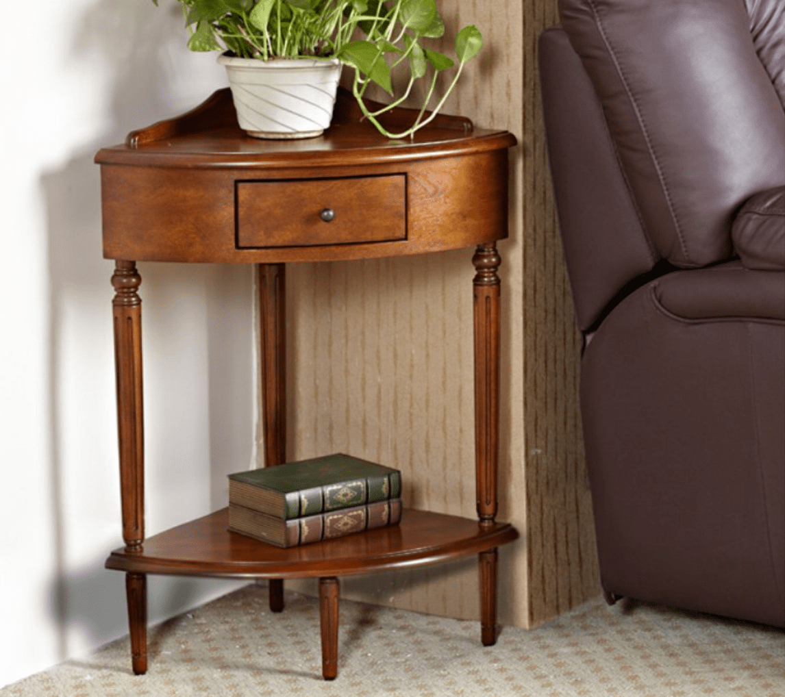 Beautiful small corner accent table