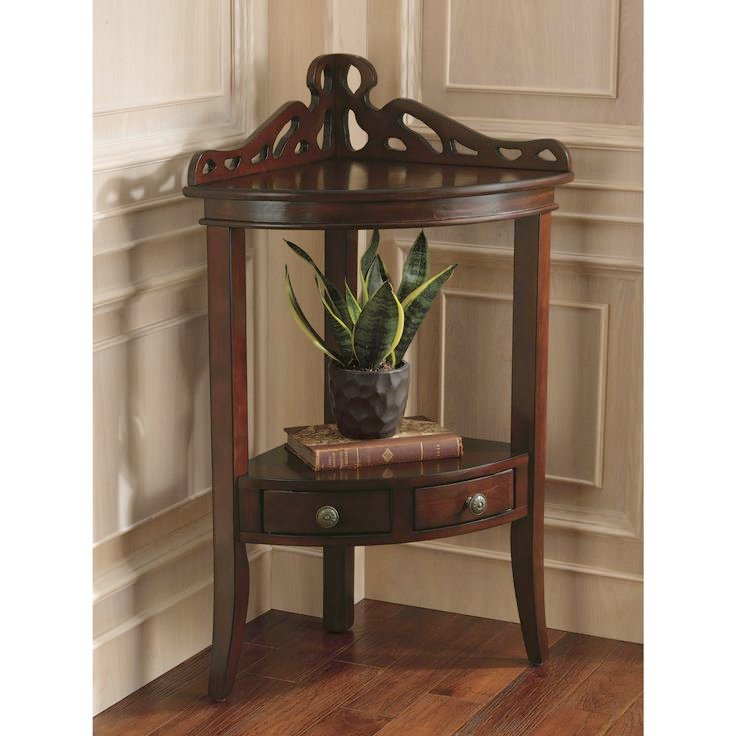 Small Corner Accent Table The Grace Corner Accent Table Is The Perfect  Piece To Fit Elegantly