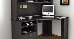 Bush Cabot Corner Computer Desk with Optional Hutch - BHI874