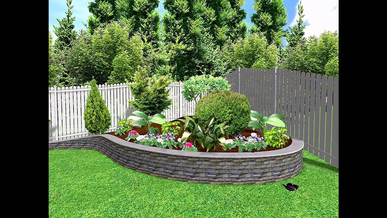 [Garden Ideas] Small garden landscape design Pictures Gallery - YouTube