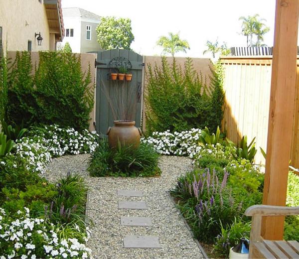 Garden ideas, Landscaping ideas, Contemporary Garden, Small garden, Urban  Backyard, Mediterranean