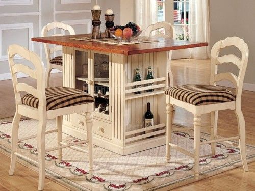 Small Kitchen Island with Seating and Storage | Kitchen | Pinterest
