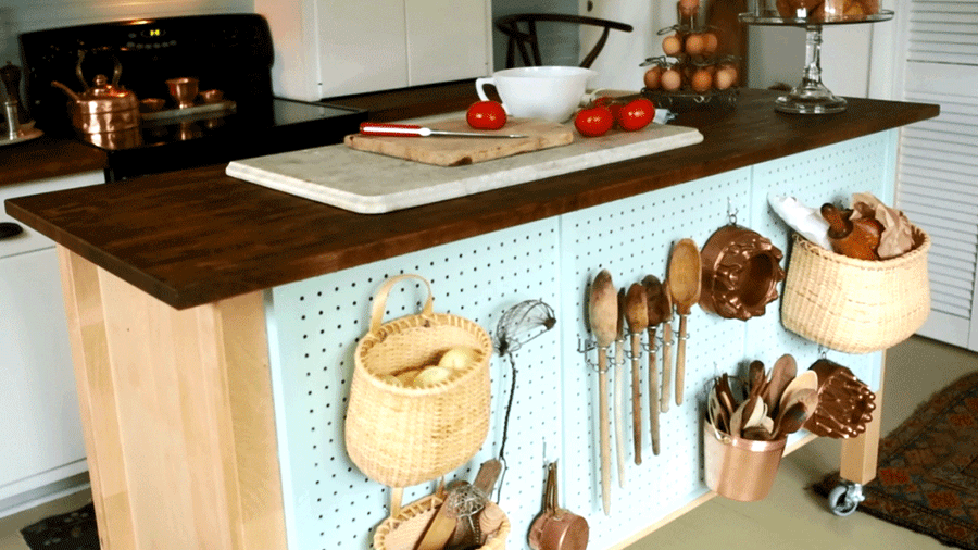Do It Yourself Kitchen Island Ideas | Better Homes & Gardens